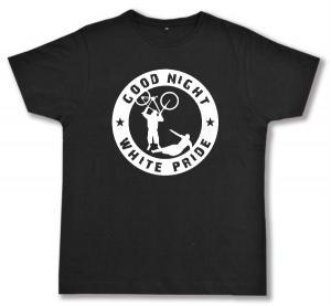 Fairtrade T-Shirt: Good Night White Pride - Fahrrad