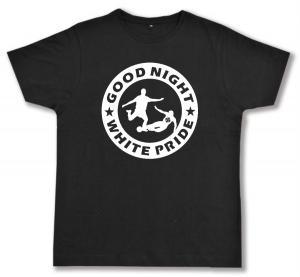 Fairtrade T-Shirt: Good night white pride - Fußball