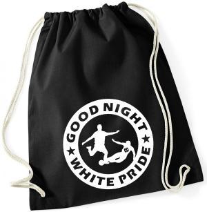 Sportbeutel: Good night white pride - Fußball