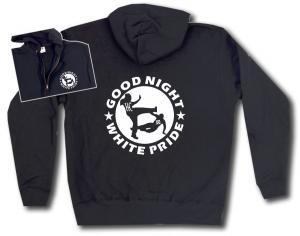 Kapuzen-Jacke: Good night white pride (HC)