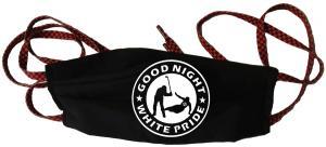 Mundmaske: Good night white pride - Hockey