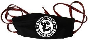 Mundmaske: Good night white pride - Motorrad