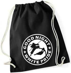 Sportbeutel: Good night white pride - Ninja