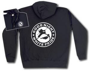 Kapuzen-Jacke: Good night white pride - Ninja