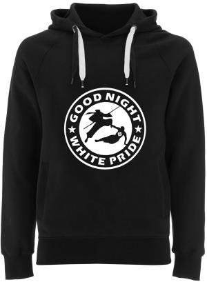 Fairtrade Pullover: Good night white pride - Ninja