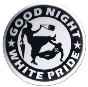 37mm Button: Good Night White Pride - Oma