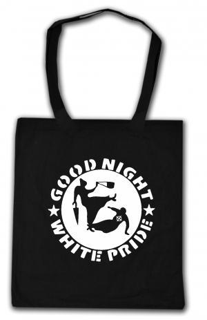 Baumwoll-Tragetasche: Good Night White Pride - Oma