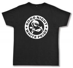 Fairtrade T-Shirt: Good night white pride - Pflanze