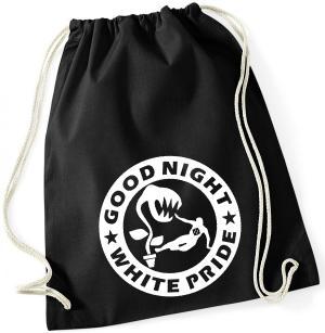 Sportbeutel: Good night white pride - Pflanze