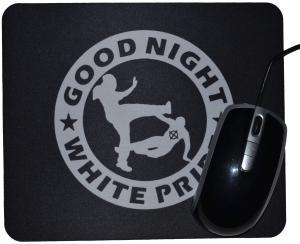 Mousepad: Good Night White Pride