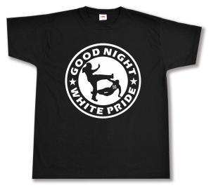 T-Shirt: Good night white pride