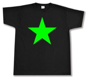 T-Shirt: Grüner Stern