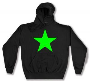 Kapuzen-Pullover: Grüner Stern