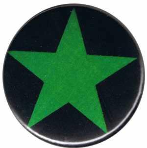 50mm Button: Grüner Stern