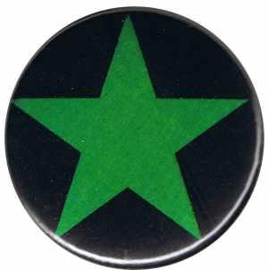 25mm Button: Grüner Stern