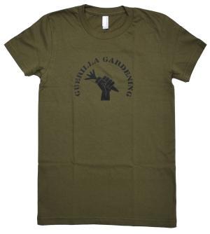 tailliertes T-Shirt: Guerilla Gardening