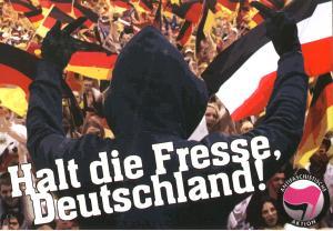 Aufkleber-Paket: Halt die Fresse, Deutschland!