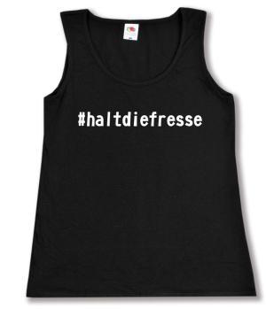 tailliertes Tanktop: #haltdiefresse