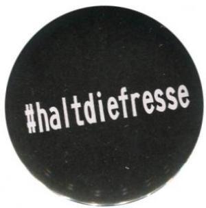 37mm Button: #haltdiefresse