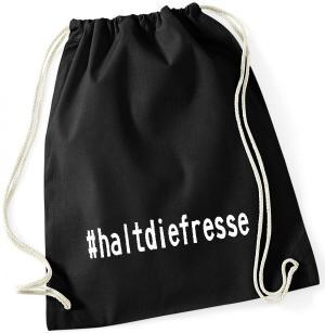 Sportbeutel: #haltdiefresse