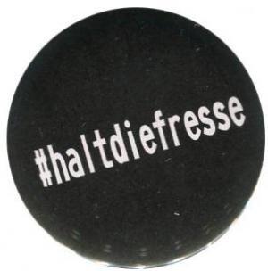 50mm Button: #haltdiefresse