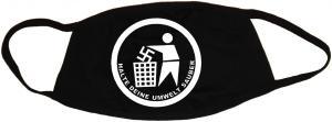 Mundmaske: Halte Deine Umwelt sauber