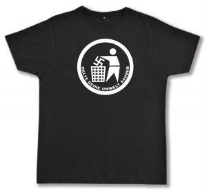Fairtrade T-Shirt: Halte Deine Umwelt sauber