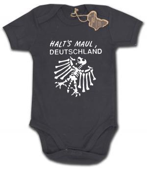 Babybody: Halt's Maul Deutschland (weiß)