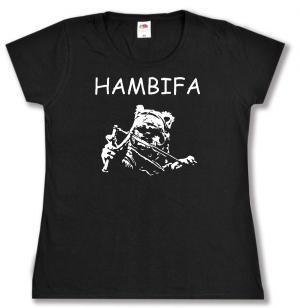 tailliertes T-Shirt: Hambifa