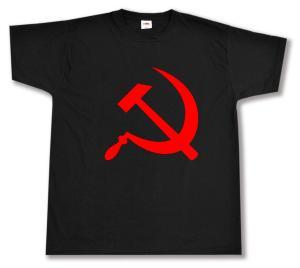 T-Shirt: Hammer und Sichel