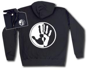 Kapuzen-Jacke: Hand