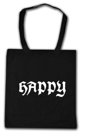 Baumwoll-Tragetasche: Happy APPD