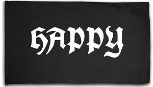 Fahne / Flagge (ca. 150x100cm): Happy APPD