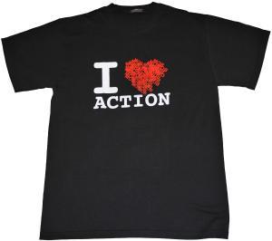 T-Shirt: Heart (black)