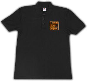 Polo-Shirt: hicbir insan illegal degildir