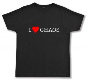 Fairtrade T-Shirt: I love Chaos