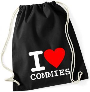 Sportbeutel: I love commies