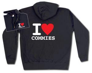 Kapuzen-Jacke: I love commies