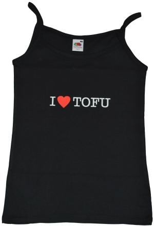 Top / Trägershirt: I love Tofu