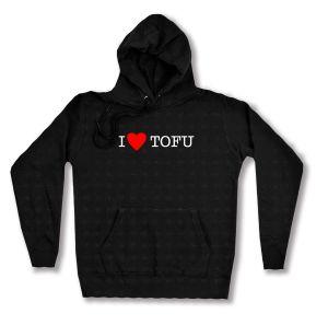 Woman Kapuzen-Pullover: I love Tofu