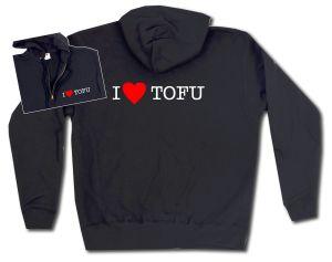 Kapuzen-Jacke: I love Tofu