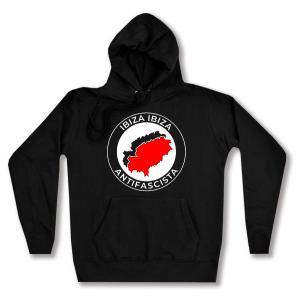 taillierter Kapuzen-Pullover: Ibiza Ibiza Antifascista