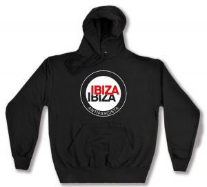 Kapuzen-Pullover: Ibiza Ibiza Antifascista (Schrift)