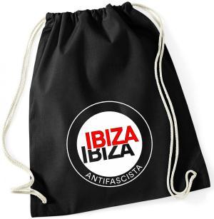 Sportbeutel: Ibiza Ibiza Antifascista (Schrift)