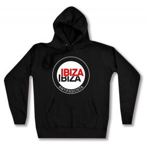 Woman Kapuzen-Pullover: Ibiza Ibiza Antifascista (Schrift)
