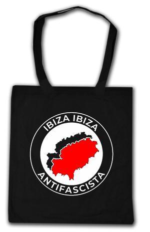 Baumwoll-Tragetasche: Ibiza Ibiza Antifascista