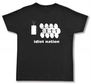 Fairtrade T-Shirt: Idiot Nation