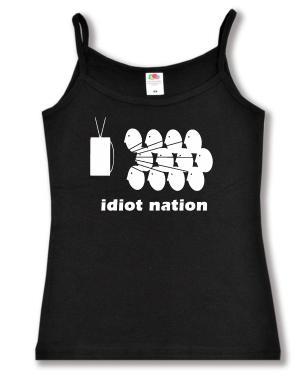 Top / Trägershirt: Idiot Nation