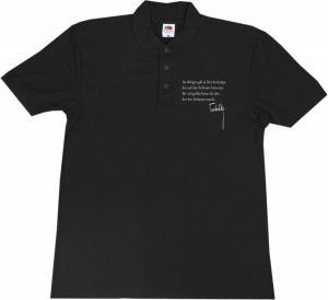 Polo-Shirt: Im übrigen gilt ja hier derjenige, der auf den Schmutz hinweist, für viel gefährlicher als der, der den Schmutz macht.