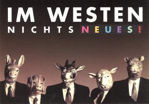 Postkarte: Im Westen nichts Neues!